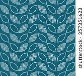 seamless tiled turquoise... | Shutterstock .eps vector #357351623