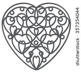Wrought Heart  Imitation Iron....