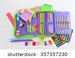 Pencil Case With Various...