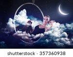 Sensual Woman Dreaming And...