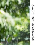 splashing water on nature.... | Shutterstock . vector #357362999
