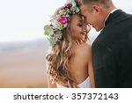 portrait of a girl and couples... | Shutterstock . vector #357372143