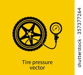 Tire Pressure Gauge Icon....