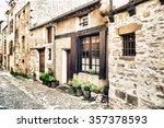 cordes sur ciel in france | Shutterstock . vector #357378593
