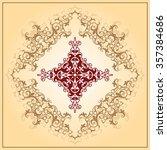 christian cross design raster... | Shutterstock . vector #357384686
