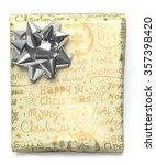 christmas gift box | Shutterstock . vector #357398420