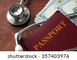 medical tourism concept.... | Shutterstock . vector #357403976