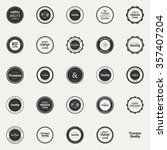 abstract premium quality labels ... | Shutterstock .eps vector #357407204