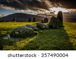 Long Shadows Of The Stones At...