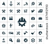 repair icons vector set | Shutterstock .eps vector #357492950