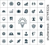 solution icons vector set | Shutterstock .eps vector #357493226