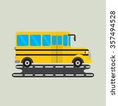 school bus | Shutterstock .eps vector #357494528