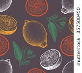vector seamless pattern with... | Shutterstock .eps vector #357500450