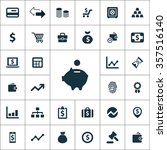 finance icons vector set. | Shutterstock .eps vector #357516140