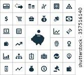 finance icons vector set. | Shutterstock .eps vector #357516140