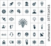 simple innovation icons set   Shutterstock .eps vector #357516416