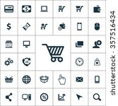 e commerce icons vector set