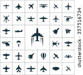 Aviation Icons Vector Set....