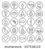 set of isolated high quality... | Shutterstock .eps vector #357528110