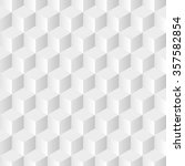 cubes gray background in vector | Shutterstock .eps vector #357582854