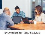 business meeting   Shutterstock . vector #357583238