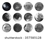 black and white indian ink and... | Shutterstock . vector #357585128