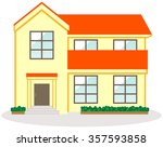 home single house | Shutterstock . vector #357593858