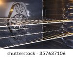inside a new oven | Shutterstock . vector #357637106