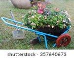 Gardening Cart With Flower Pot...