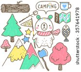 let go camping | Shutterstock . vector #357641978