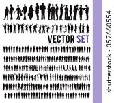 vector business people... | Shutterstock .eps vector #357660554