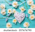 White Decorative Heart And ...