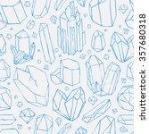vector seamless pattern. hand... | Shutterstock .eps vector #357680318