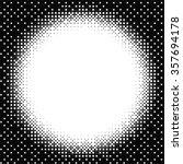 black dot pattern texture on... | Shutterstock .eps vector #357694178