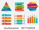 abstract infographics number... | Shutterstock .eps vector #357710429
