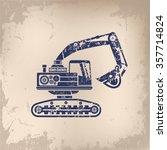 Loader Excavator Design On Ol...