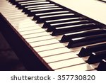 Постер, плакат: Piano keyboard Music instrument