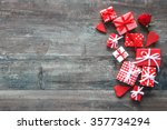 valentines day vintage... | Shutterstock . vector #357734294