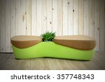 seat sofa on the floor | Shutterstock . vector #357748343