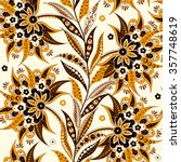 elegance seamless pattern with... | Shutterstock .eps vector #357748619