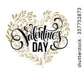 Valentines Day Card Design Han...