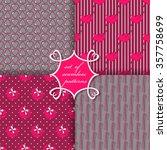 set of seamless vector...   Shutterstock .eps vector #357758699