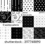 set  abstract geometric...   Shutterstock .eps vector #357768890