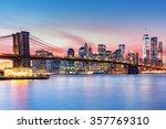 Brooklyn Bridge And The Lower...