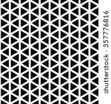 Repeat Monochrome Hexagonal...