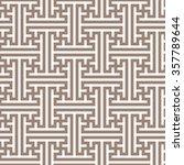 geometric seamless pattern in... | Shutterstock .eps vector #357789644