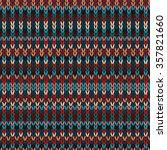 seamless ethnic geometric...   Shutterstock .eps vector #357821660