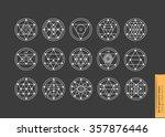 set of minimal geometric...   Shutterstock .eps vector #357876446