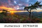 Sunset Over The Blue Ridge...