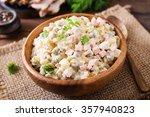 Traditional Russian Salad ...